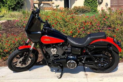 2009 Harley Davidson FXDL – Dyna Low Rider / Gumbi