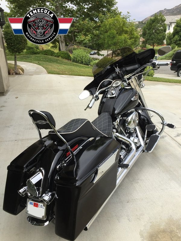 Custom Softail Deluxe Full on Motorcycle Engine Parts